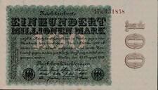 1923 Germany Weimar Republic 100.000.000 / 100 Million Mark Banknote