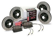 StopTech 4 Wheel Slotted/Drilled Brake Kit fits 2002 Impreza WRX/WRX STI NEW