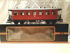Spur G, neuer, 4-achsiger Personenwagen, Train - rot, Günstigvariante! Original