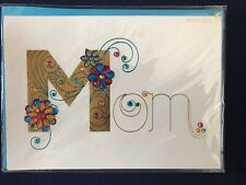 NIP PAPYRUS HAPPY MOTHERS DAY CARD $7.95 GEMS MOM Mother's Rare