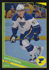 13-14 O-Pee-Chee BLACK RAINBOW xx/100 Made! David PERRON #124 - Blues