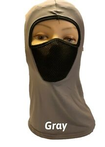 1 Hole Full Face Mask Various Color Ski Safety Lightweight Winter Cap
