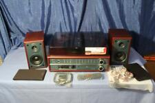 Teac LP-P1000 Home Shelf Stereo Tuner CD Player Turntable Speakers Bluetooth