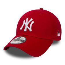 New York Yankees Cap Rot MLB Baseball New Era 39thirty S / M Kappe White Logo