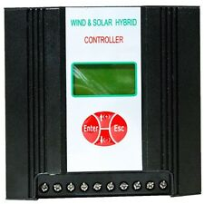 Hybrid Charge Controller All Round, Wind 400W/33A, Solar 150W/12A, 12V, LCD disp