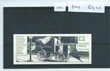 wbc. - GB - STAMP BOOKLETS - 141 - £2 - FW2 - MOTORISED MAIL VAN - 1 booklet