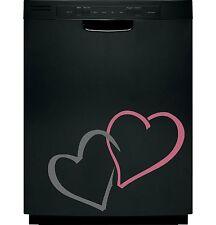 Hearts Love Sticker Decal Dishwasher Refrigerator Washing Machine Stove