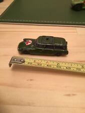 Husky Citroen Safari Military Ambulance Model Green Vintage/Collectable