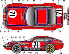 Studio27 FR2421 1:24 Ferrari 365 GTB4 Competizione #71 Ch POZZI 1974 resin kit