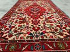 Authentic Hand Knotted Vintage Hamidoun Wool Area Rug 4.2 x 2.5 Ft (11581 KBN)
