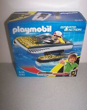 New Click & Go Croc Speedboat - Imaginative Play Toy Set by Playmobil (5161)