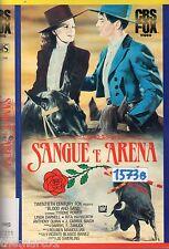 Sangue e arena (1941) VHS Fox Video  Tyrone Power Rita Hayworth Anthony Quinn