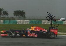 Sebastian Vettel Autogramm signed 20x30 cm Bild