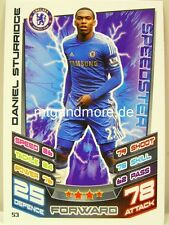 Match Attax 2012/13 Premier League - #053 Daniel Sturridge - Chelsea