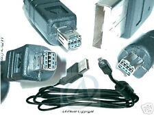 Cavo USB per fotocamera digitale Minolta dimage X 20 21 31 Xg Xi Xt Z1 Z2 A1