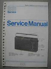 Philips 1450 Kofferradio Service Manual