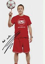 Signed Tim Lovejoy Picture12x8 Autograph Soccer Am, Something For The Weekend