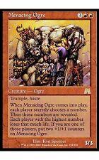 1x Menacing Ogre Onslaught MtG Magic Red Rare 1 x1 Card Cards