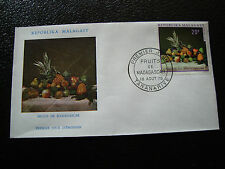 MADAGASCAR - enveloppe 18/8/70 - fruits de madagascar - yt n° 476 - (cy7)