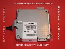 04 05 06 TOYOTA MATRIX ECU ECM REBUILD REPAIR SERVICE TRANSMISSION SHIFT ISSUES
