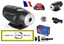 CAMERA EMBARQUE MINI DV HD 640x480 + CARTE MICRO SD 4 GO INCLUS