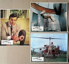 RAMDAM A RIO - Connors,Vallone - 3 PHOTOS ORIGINALES / 3 FRENCH LOBBY CARDS