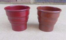 2 Vintage HILITE Bakelite Egg Cups