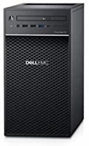 Dell PowerEdge T40 Tower Server - Intel Xeon E-2224G Quad-Core Processor up to 4