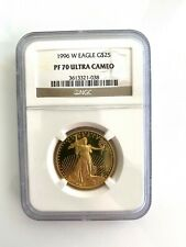 1996-W GOLD EAGLE $25 1/2 Oz NGC PF70 PF-70 PROOF PR70 ULTRA CAMEO