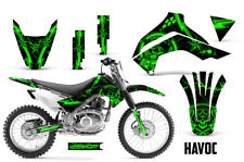Dirt Bike Decal Graphics Kit Sticker Wrap For Kawasaki KLX140 2008-2018 HAVOC G