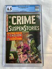 Crime Suspenstories #14 CGC 6.5 Universal EC Comics 1952