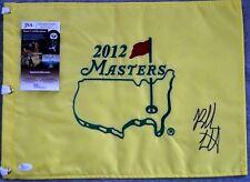 Bubba Watson Autographed Signed 2012 Masters Pin Flag JSA COA