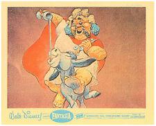 Walt Disney Fantasia original lobby card unicorn and Pegasus scene
