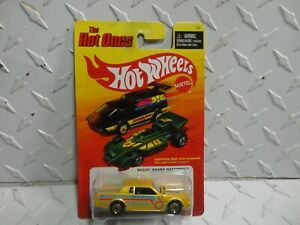 Hot Wheels The Hot Ones Yellow Buick Grand National