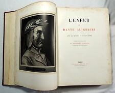 L'Enfer De Dante Alighieri, Gustave Dore, Librairie Hachette, Paris 1884