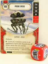 Star Wars Destiny - #006 campione Droid + dice-RED-Empire at War