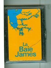 """Sealed Deck, """"La Baie James"""" Non-Standard Playing Cards, Canada, 1980's"""