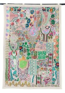 Wall Hanging Handmade Patchwork Ethnic Decorative Wall Hanging Art Tapestry