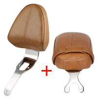 Driver Backrest Support Pad & Passenger Pillion Seat For Indian Scout 2015-2018