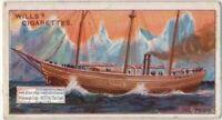 """The """"Fram"""" Ship  Norwegian Explorer Nansen Amundsen 100+ Y/O Trade Card"""