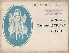 Ford Consul Zephyr Zodiac Saloon Mk2 1956 UK Market Foldout Sales Brochure