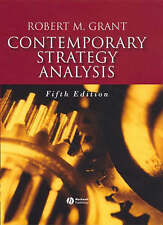 Contemporary Strategy Analysis: Concepts, Techniques, Applications (5th Edition