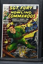 Sgt Fury and His Howling Commandos #66 Marvel Silver Age Comic 1969 Stan Lee 6.5