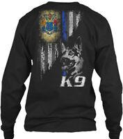 New Jersey Police K9 - Gildan Long Sleeve Tee T-Shirt