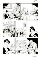 """LUCA ROSSI - Dylan Dog Color Fest n.9 """"Quell'hotel sulla spiaggia"""" p. 14"""