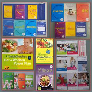 Weight Watchers Bücher DVD Einkaufsführer Calculator Starterset u.v.m.