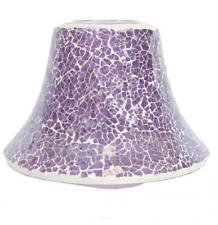 Aromatize Pink Crackle Large Jar lamp 16cm