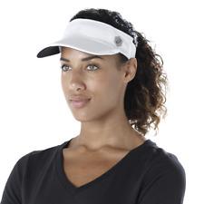 Asics Visor Damen Cap - weiß - Sonnencap - Tenniscap - One Size - 155008-0014