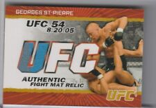 2009 TOPPS UFC #FM-GSP GEORGES ST. PIERRE MAT RELIC 40/199 0267
