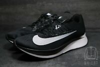 Nike Zoom Fly Men's Size 12.5 Running Shoes Black White 880848-001